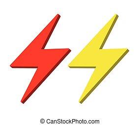 Lightning Icon Design