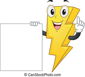 Lightning Mascot