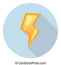 Lightning Power Symbol