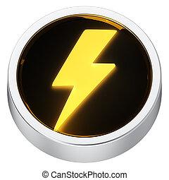 Lightning round icon