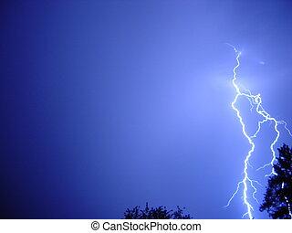 lightning storm - Storm in Gelenjik