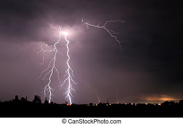 Lightning storm - this picture has taken in a big storm, ...