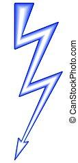 Lightning symbol icon