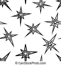 Lightning symbols, seamless wallpaper, vector illustration