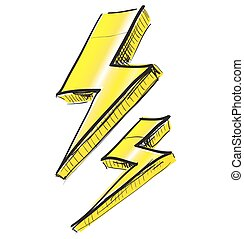 Lightnings weather icon