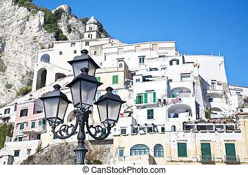 lightpost, amalfi