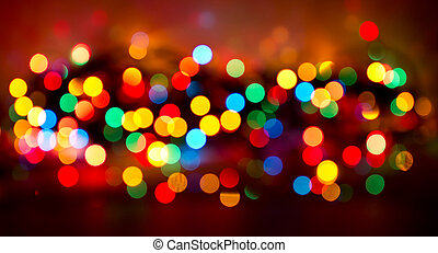 lights., クリスマス