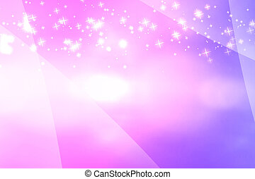Lights Blurry pattern on pink background