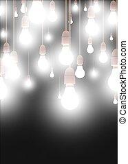 Lights - Illustration of lots of lights