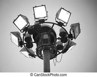 lights., estadio