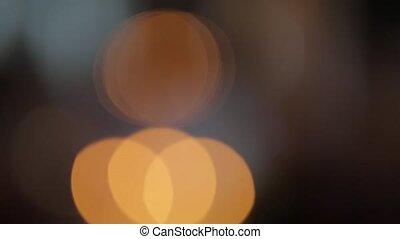 Lights in defocus - Lights of the city in defocus blur