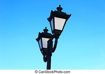 Lights on the street