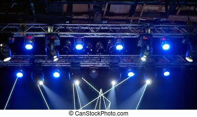 Lights oncert music