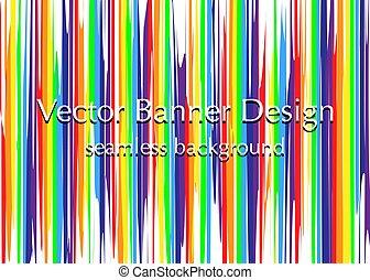lights rainbow banner