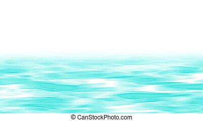 ligne, 4k, mouvement, résumé, rivière