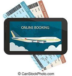 billets air billets prague avion isol illustration vecteur vide voyage. Black Bedroom Furniture Sets. Home Design Ideas