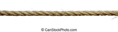 ligne, corde