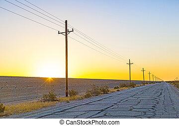 ligne, overland, électrique
