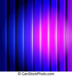 lignes bleu, fond, violet