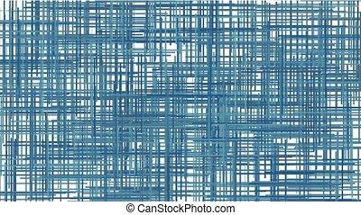 lignes bleu, résumé, croix