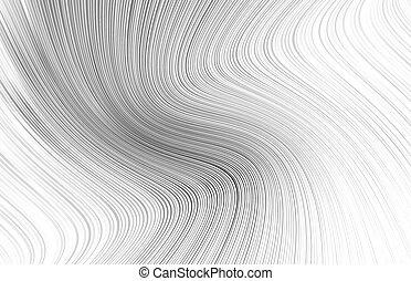 lignes, pattern., flottement, rectangulaire, grande vague, ...