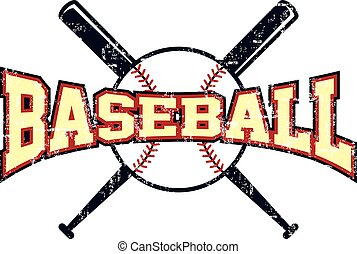 ligue, thème, base-ball