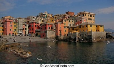 Liguria, Italy, Genoa Boccadasse