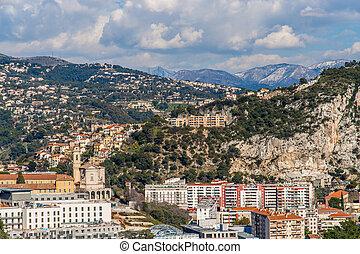 Ligurian Alps in Nice, Côte d'Azur -  France