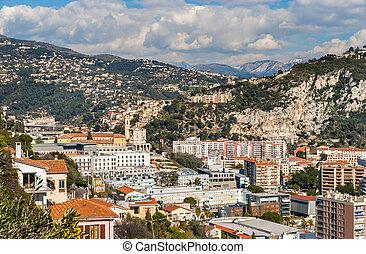 Ligurian Alps in Nice, Cote d'Azur -  France