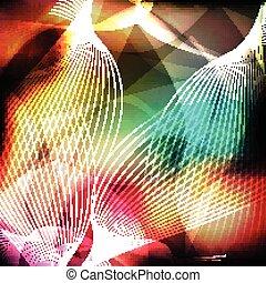 lijn, abstract, achtergrond
