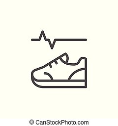 lijn, pictogram, lichamelijke activiteit