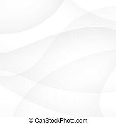 lijnen, abstract, glad, witte achtergrond