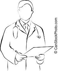 lijnen kunst, arts