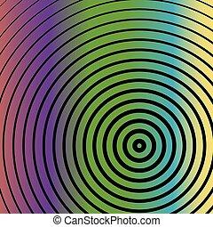 lijnen, kunst, kleurrijke, achtergrond