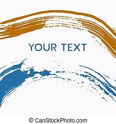lijnen, tekst, kunst, vuil