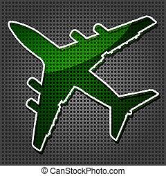 lijnvliegtuig, four-engine, straalvliegtuig