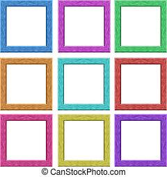 lijstjes, afbeelding, colorfull