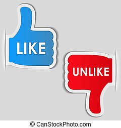 Like and Unlike Labelsation