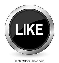 like black icon