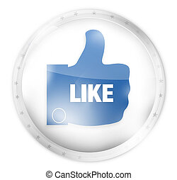 like button icon symbol