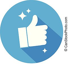 Like Button Vector Icon