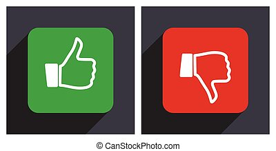 Like dislike icon.