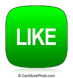 like green icon