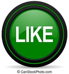 like green icon