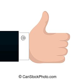 like hand concept design vector illustration eps 10