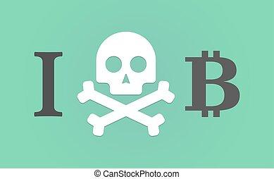 """like"""", hieróglifo, faça, """"i, sinal, bit, moeda"""