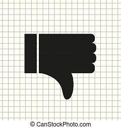 like icon vector, symbol like, sign like vector,