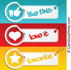 Like, Love and Favorite Tags
