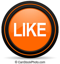 like orange icon