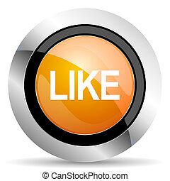 like orange icon